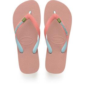havaianas Brasil Mix Sandały różowy
